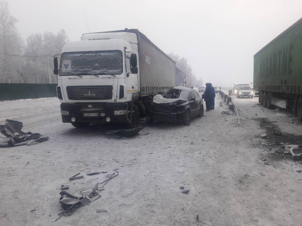 ВДТП натрассе Тюмень-Омск погибло 5 человек