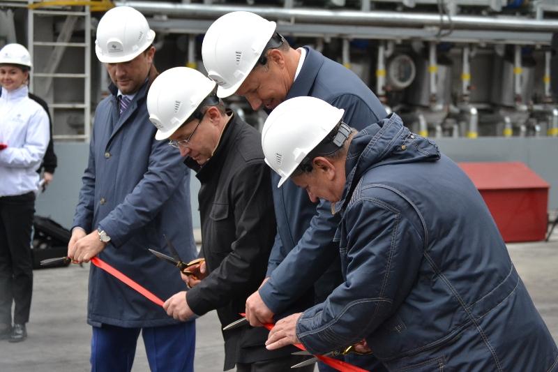 Установка глубокой переработки мазута Антипинского НПЗ открыта