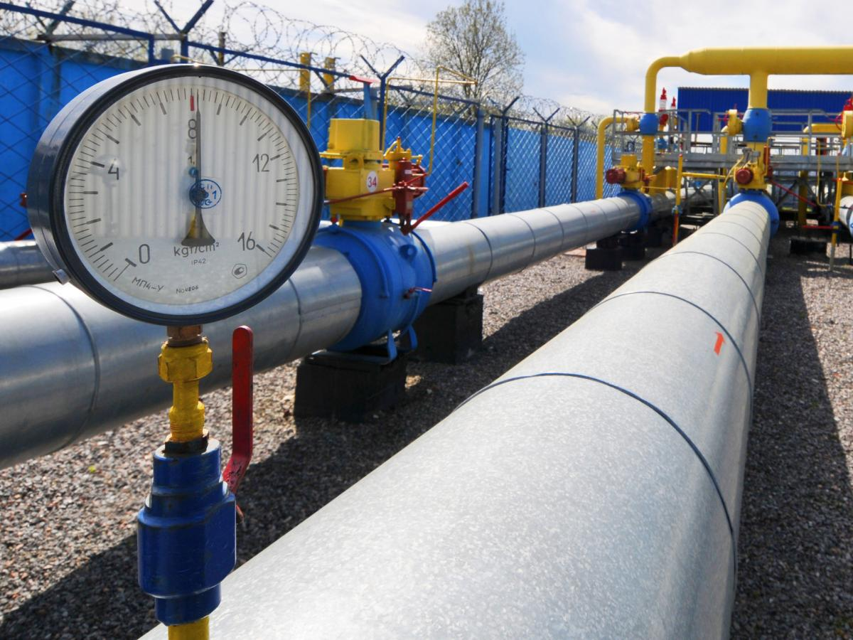 Украина накопила 11 млрд кубов газа вхранилищах