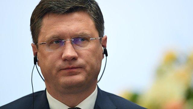 Новак: ОПЕК+ недолжна менять решения зависимо от сиюминутных причин