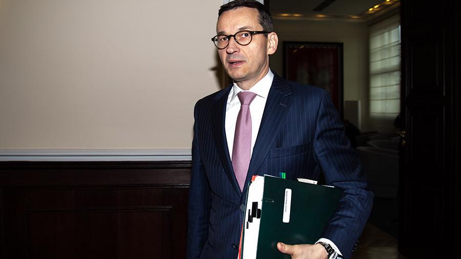 Премьер ивице-премьер польского руководства поменялись кое-где