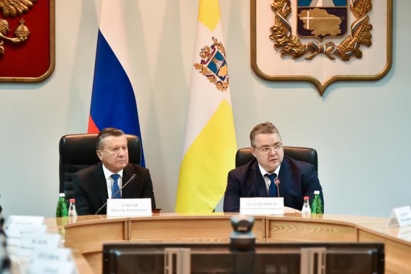 Председатель Совета начальников «Газпрома» назвал Ставрополье одним изсамых газифицированных регионов