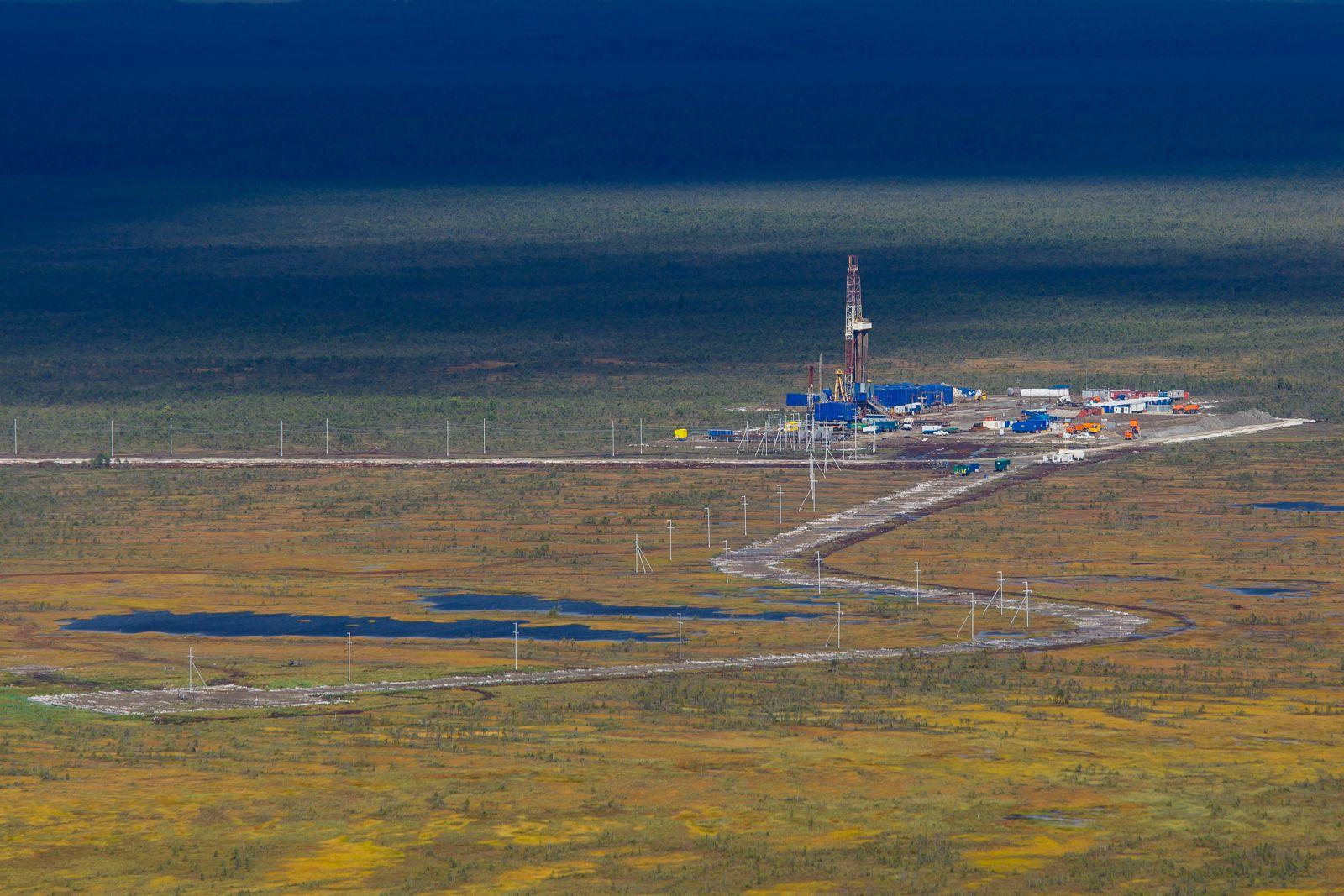 «Роснефть» увеличила добычу газа впервом полугодии на7%
