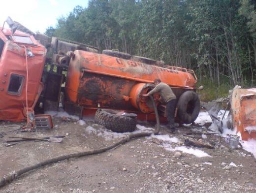 Факт разлива нефти выявили вМирнинском районе Якутии