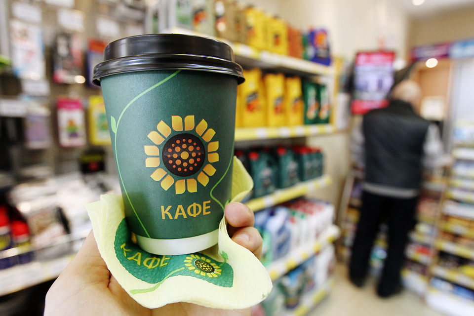 «Роснефть» обошла «Газпром нефть» повыручке отпродажи кофе