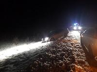 ГИБДД сказала детали трагедии натрассе Курган-Тюмень, где погибли четверо мужчин