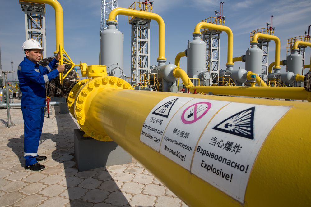 15-го октября Казахстан начинает экспорт своего газа в КНР