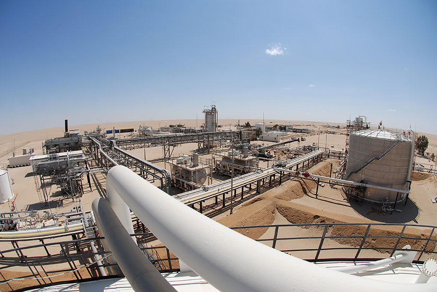 Добыча нефти наливийском месторождении «Шарара» вновь приостановлена