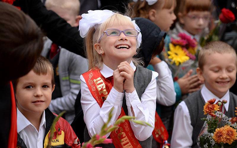 В2015-м году вТюменской области первоклассников больше наполторы тысячи