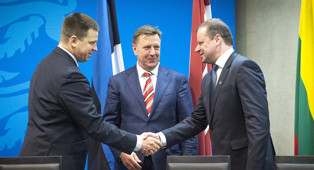 Премьер-министры стран Балтии встретятся вЛатвии ипоговорят огазе