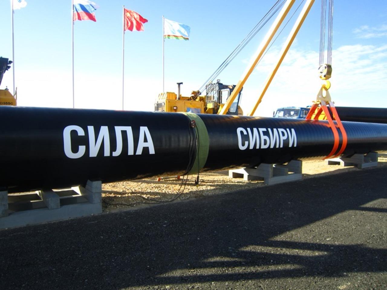 Газпром непланирует использовать сторонний газ для «Силы Сибири»