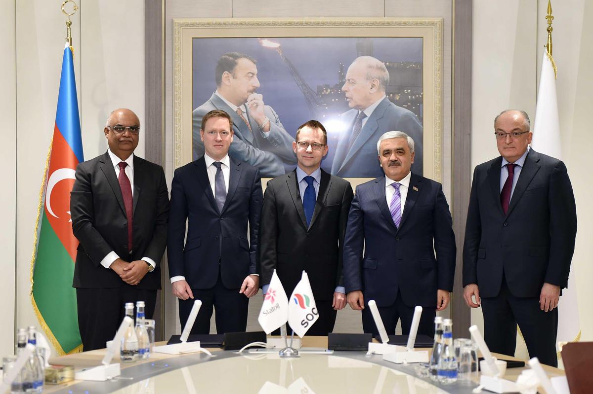 SOCAR иStatoil подписали соглашения поосновным принципам многообещающего сотрудничества