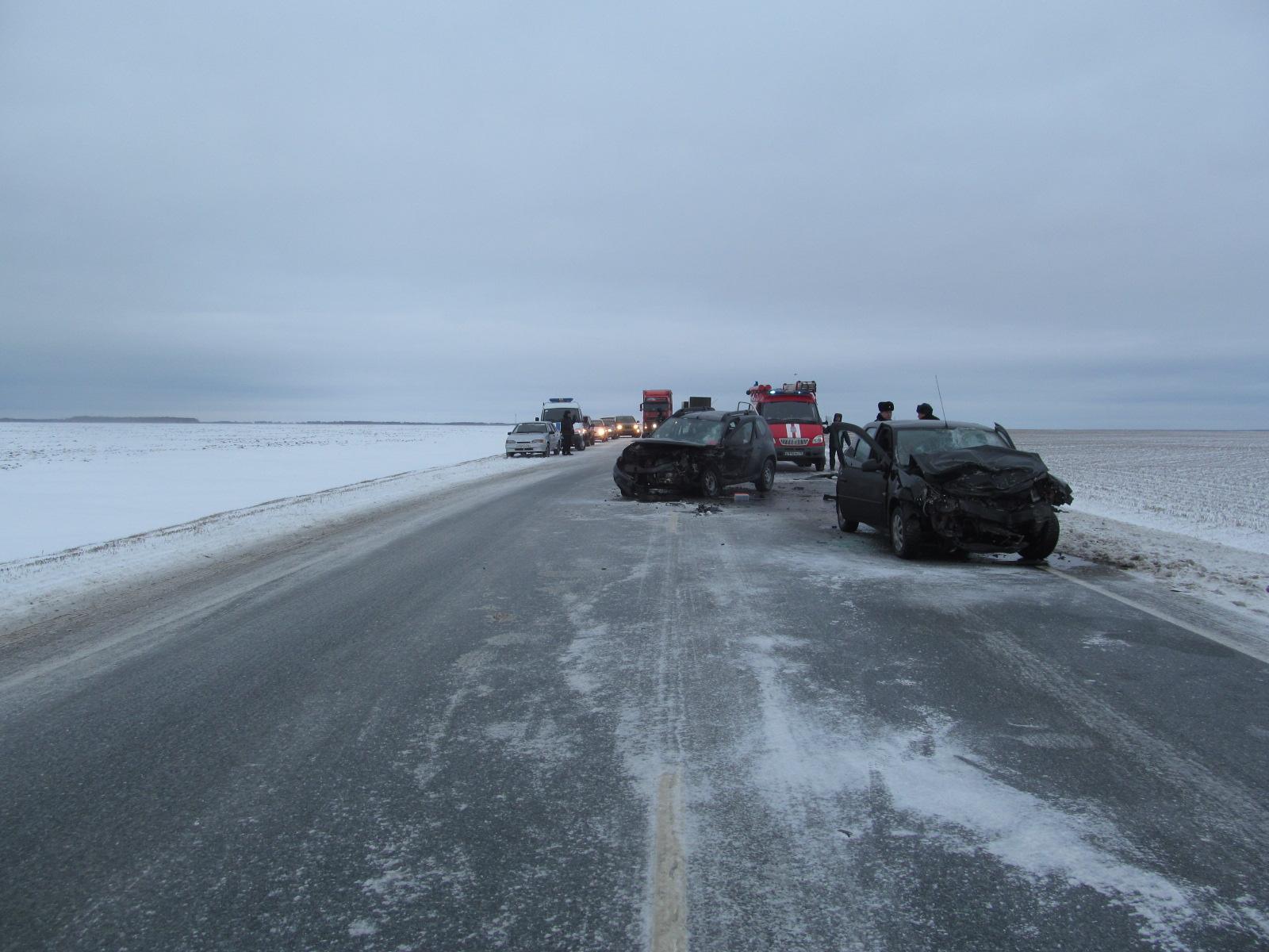 Натрассе Тюмень— Омск в трагедии умер пассажир