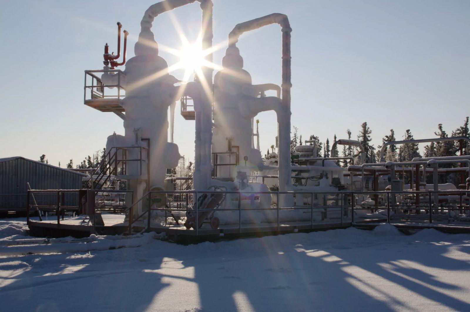 Ямал отчитался оросте объемов добычи газа, нефти иконденсата