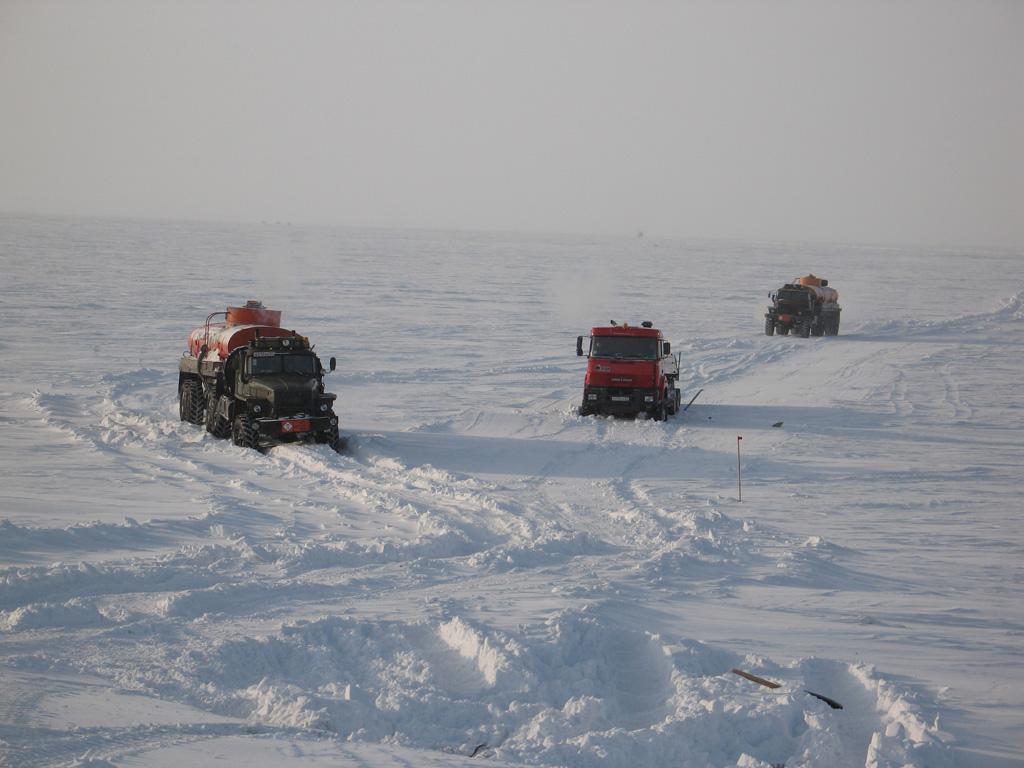 Фото ямала дороги зимой