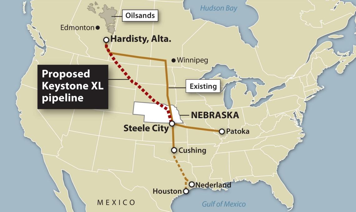 Трамп утвердил строительство нефтепровода Keystone XL новым указом