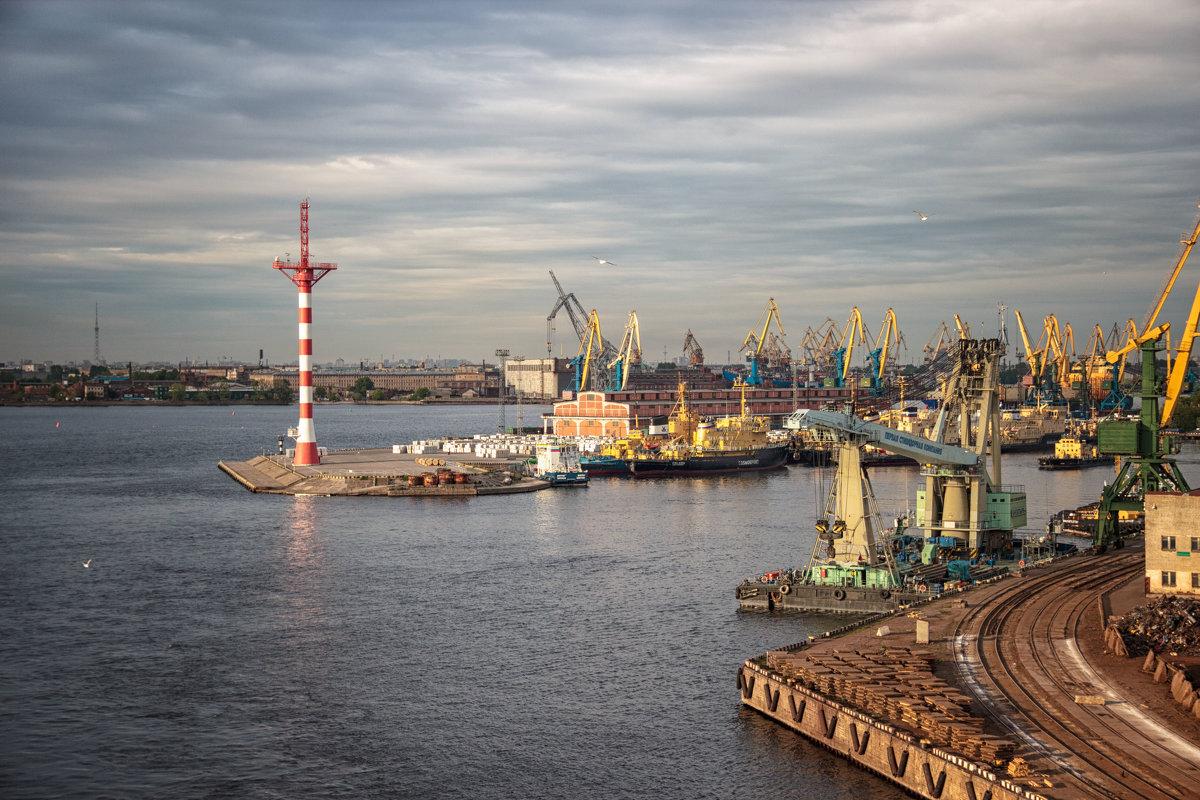 Фото порт в санкт петербурге
